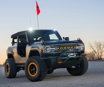 Ford Bronco Badlands Sasquatch Two-Door Concept
