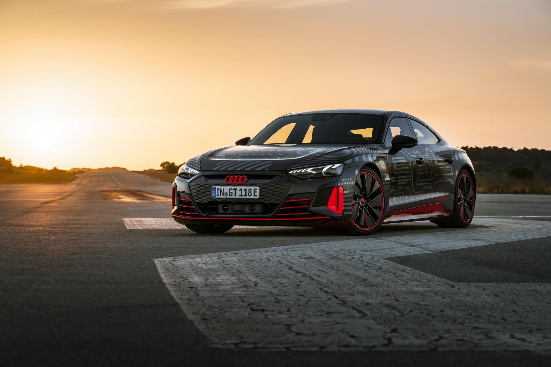 Audi RS E-tron GT protótipo