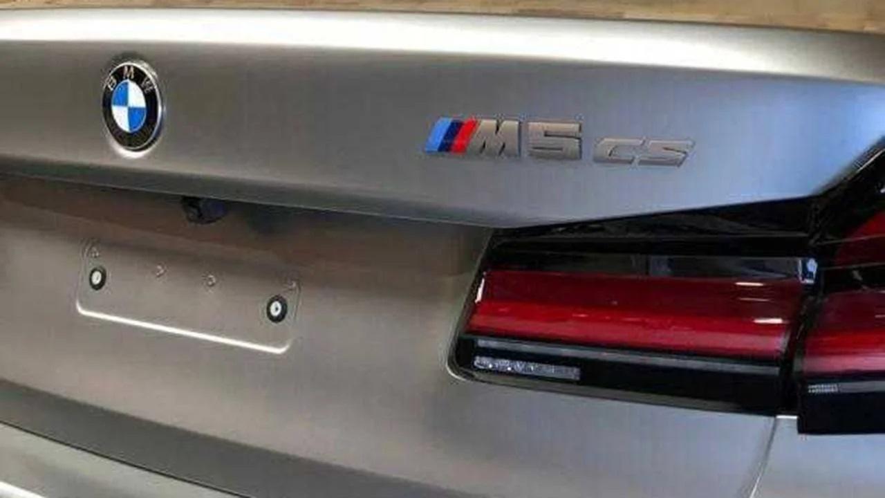 Peças do BMW M5 CS