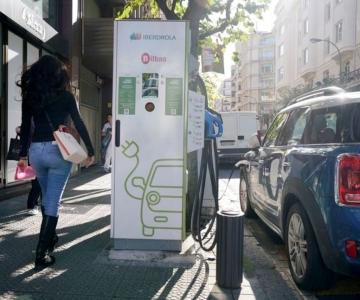 Posto de carregamento da Iberdrola em Bilbau