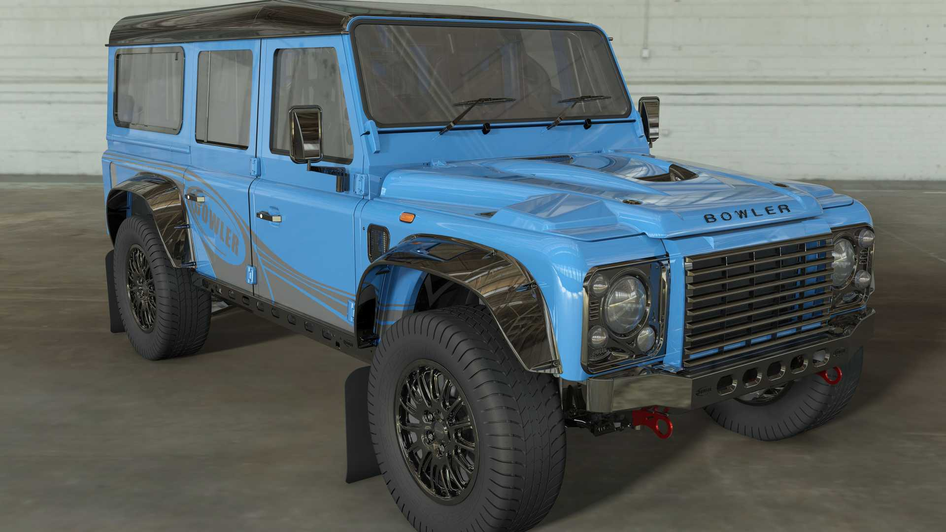 Land Rover Defender 110 by Bowler