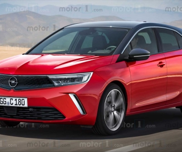 Render do novo Opel Astra