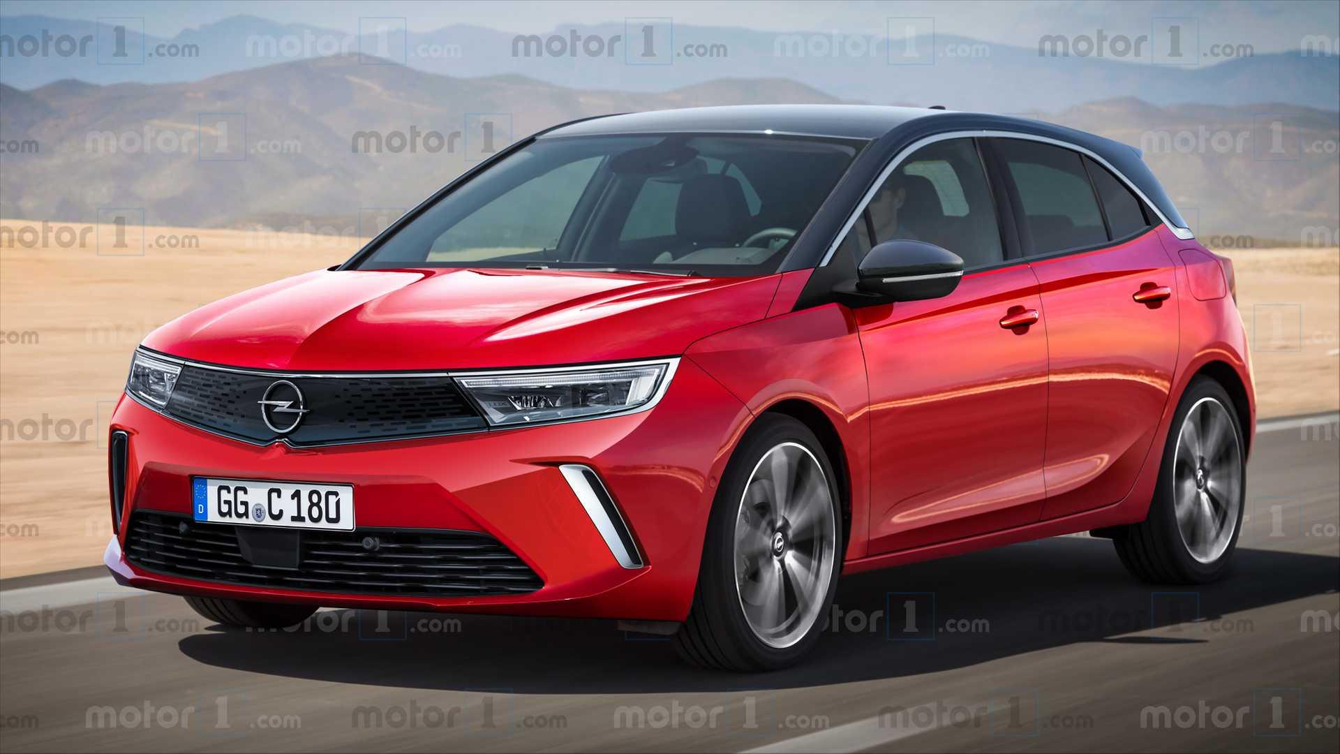 Render do novo Opel Astra