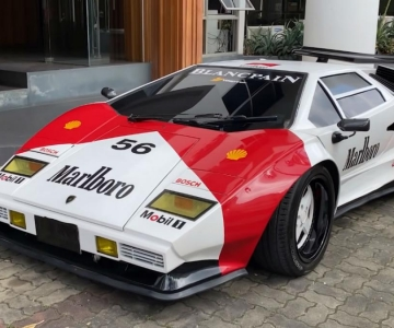 Réplica de Lamborghini Countach