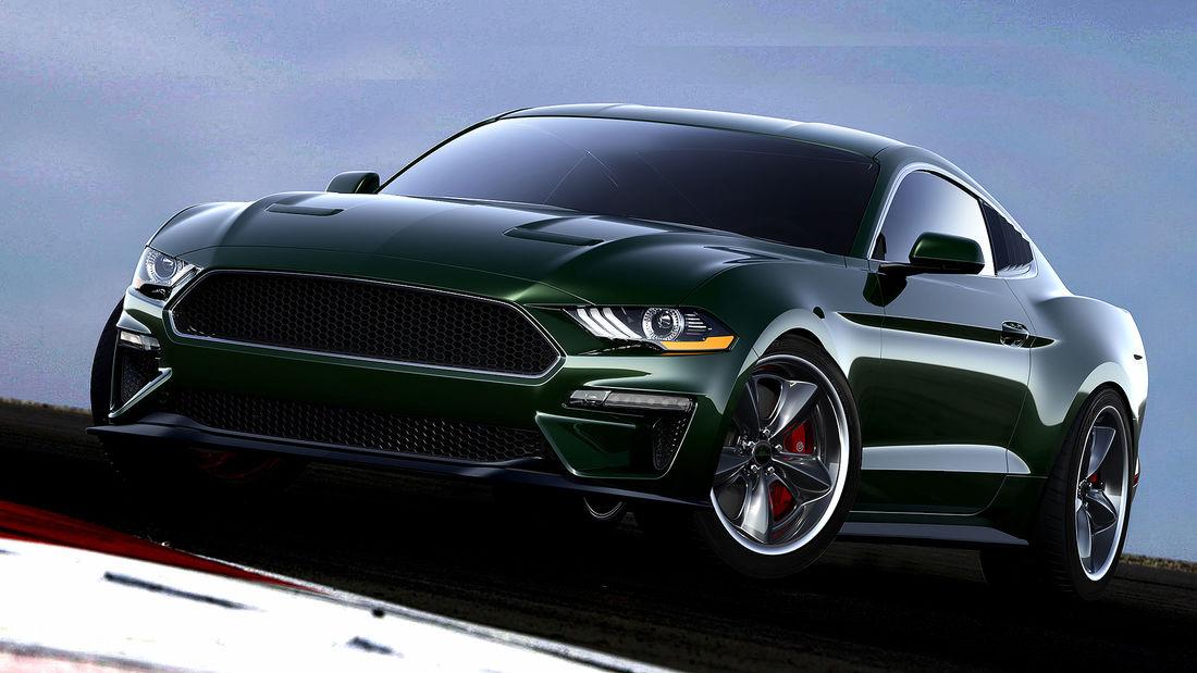 Steeda Ford Mustang Bullitt Steve McQueen Edition