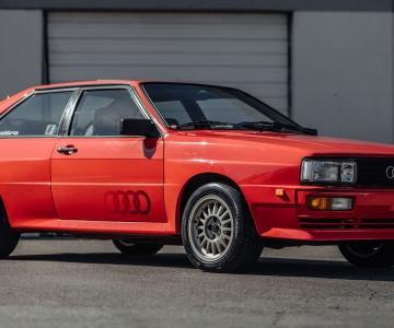 Audi Ur quattro 1983