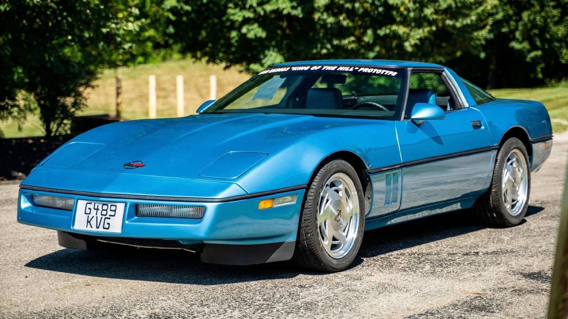 Protótipo Chevrolet Corvette ZR-1 de 1988