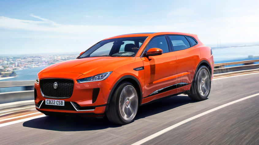 Render do Jaguar J-Pace