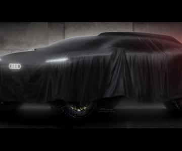 Audi vai correr no Dakar com um protótipo elétrico