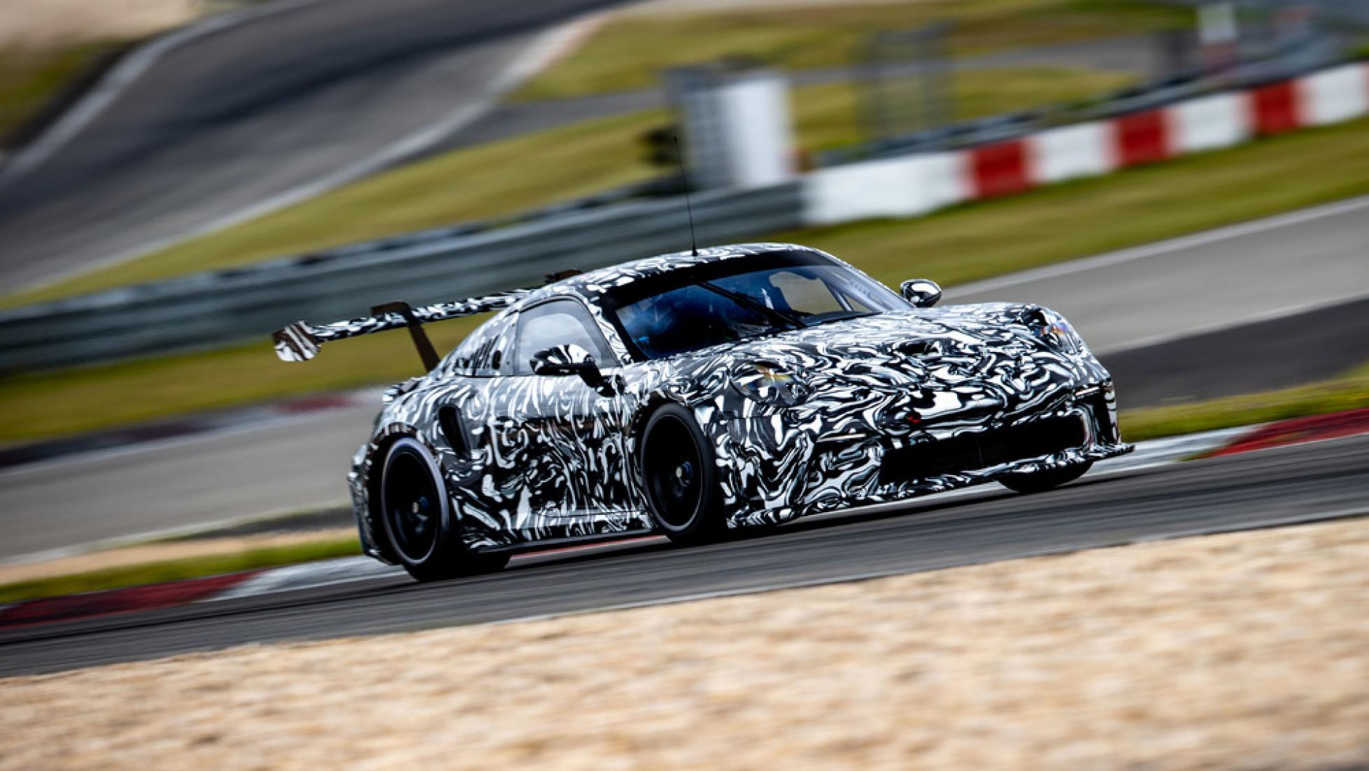 Porsche 911 GT3 Cup teaser
