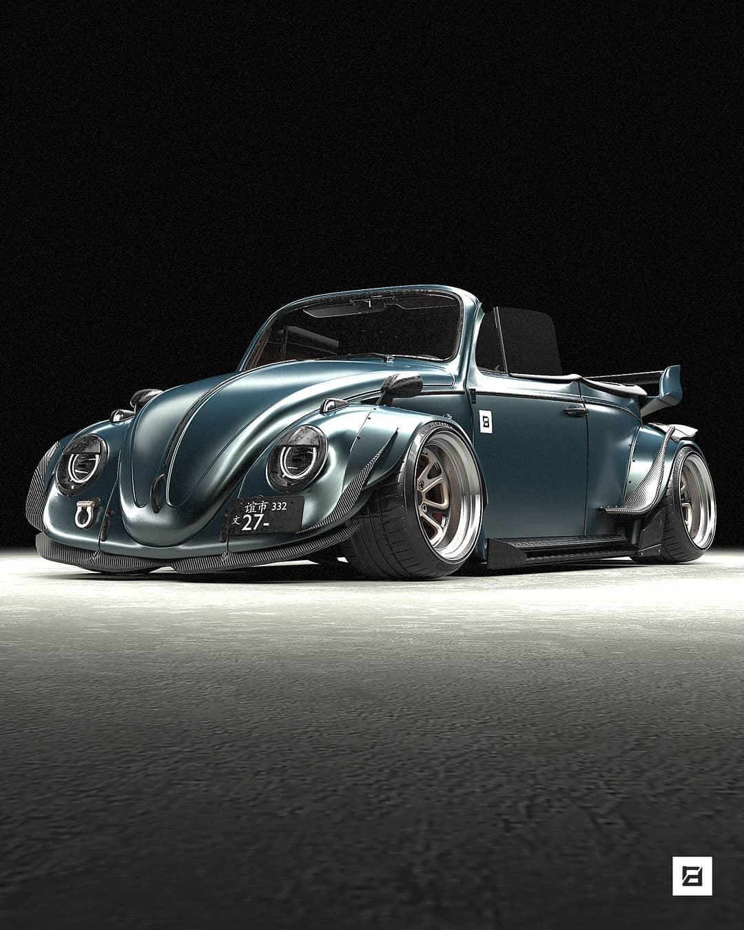RWB VW Beetle Cabrio