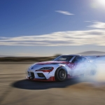 Toyota GR Supra drift