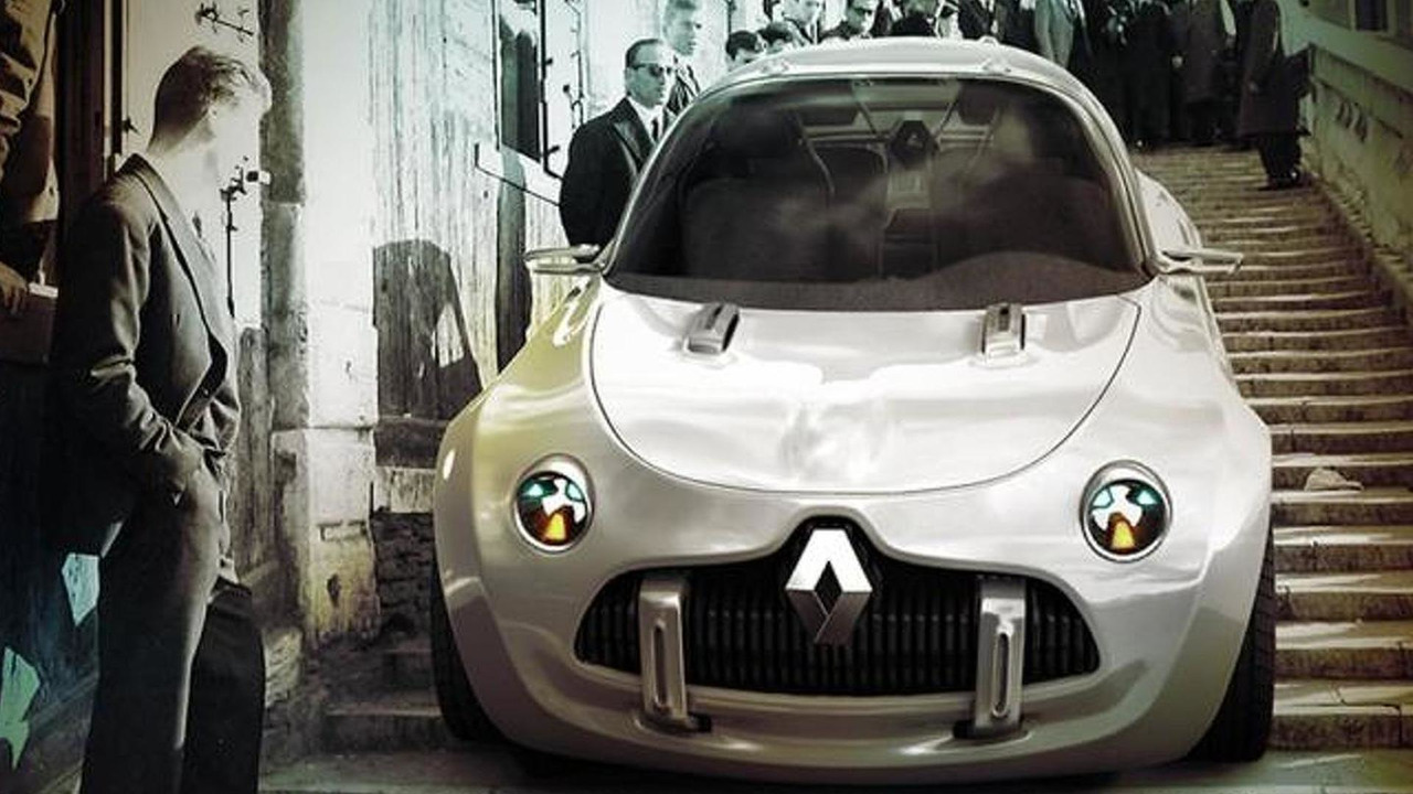 Render do Renault 4L