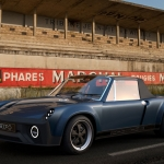 1975 Porsche 914 restomod by Fifteen Eleven Design