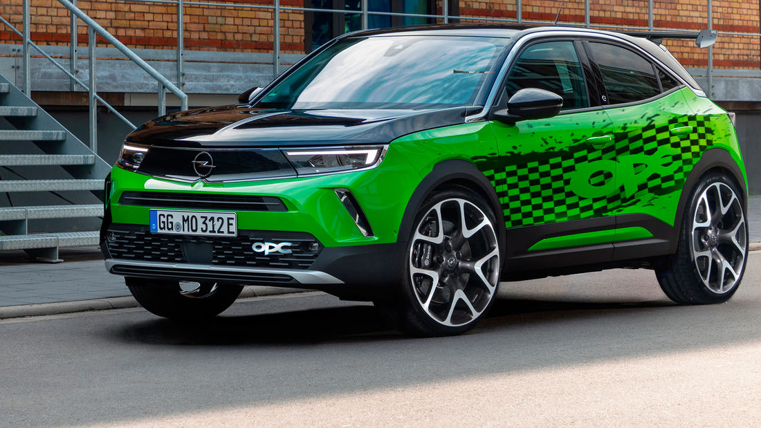 Render do Opel Mokka OPC