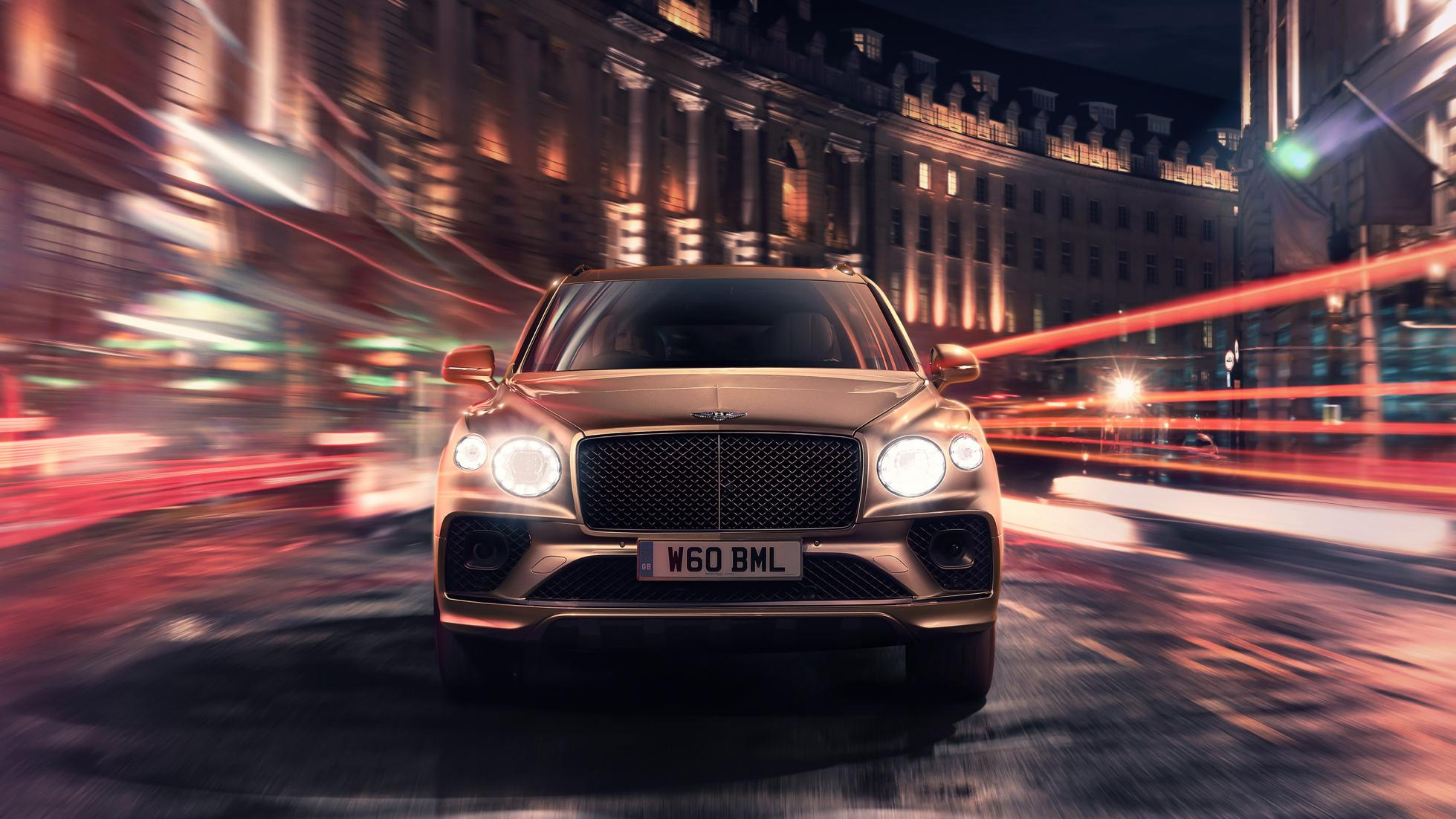Bentley Bentayga Hybrid facelift