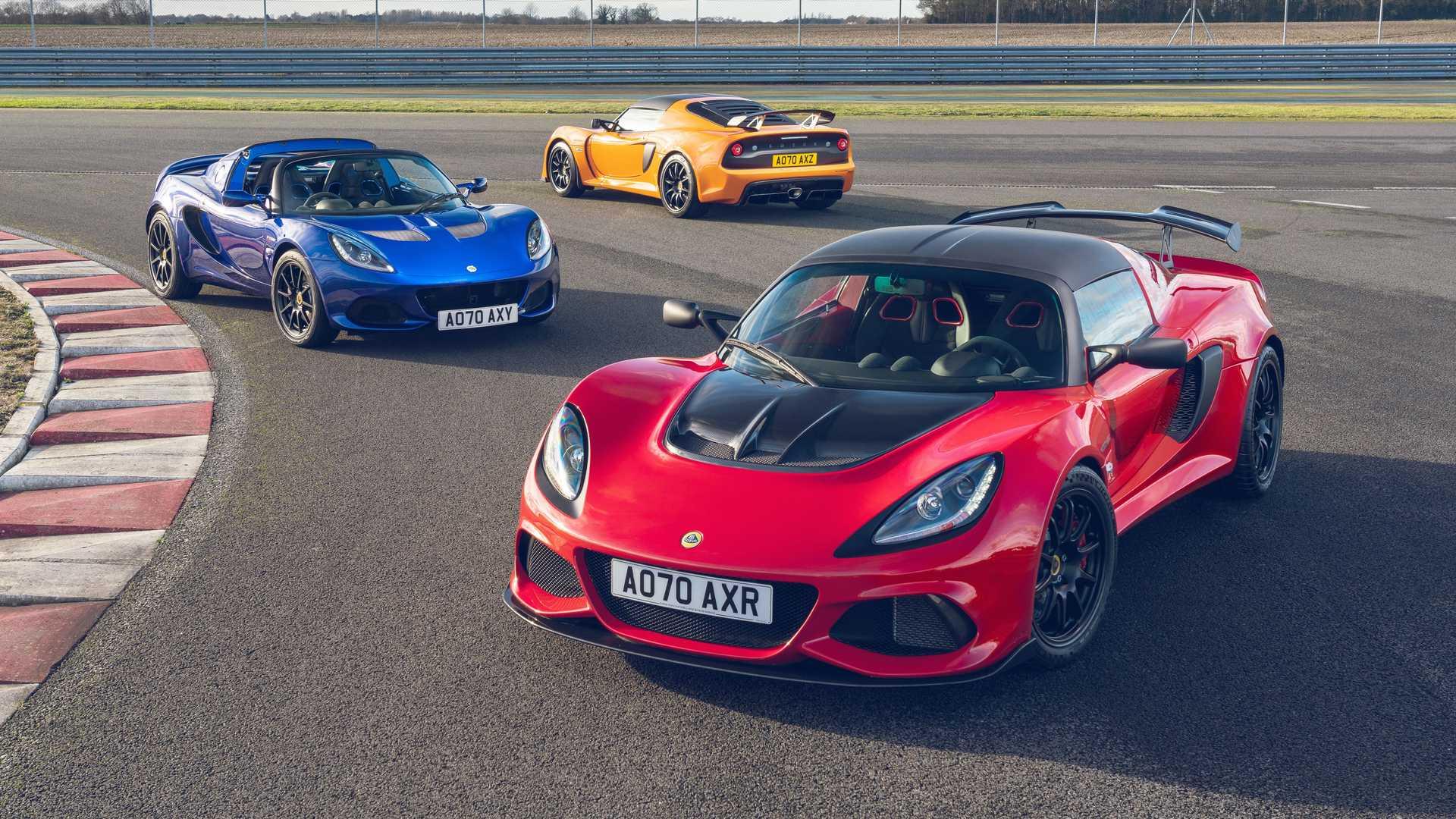 Lotus Elise e Exige Final Edition