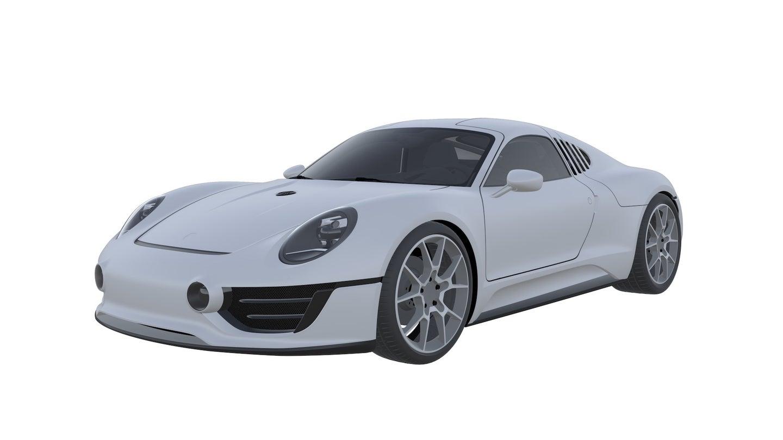 Patente de novo supercarro da Porsche