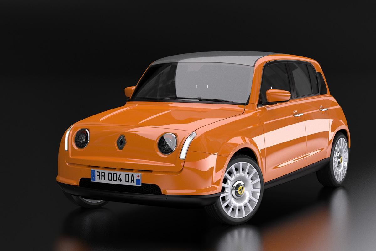 Renault 4 elétrico