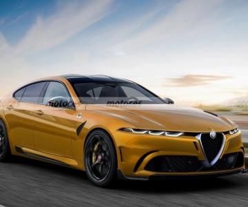 Render da próxima berlina do segmento E da Alfa Romeo
