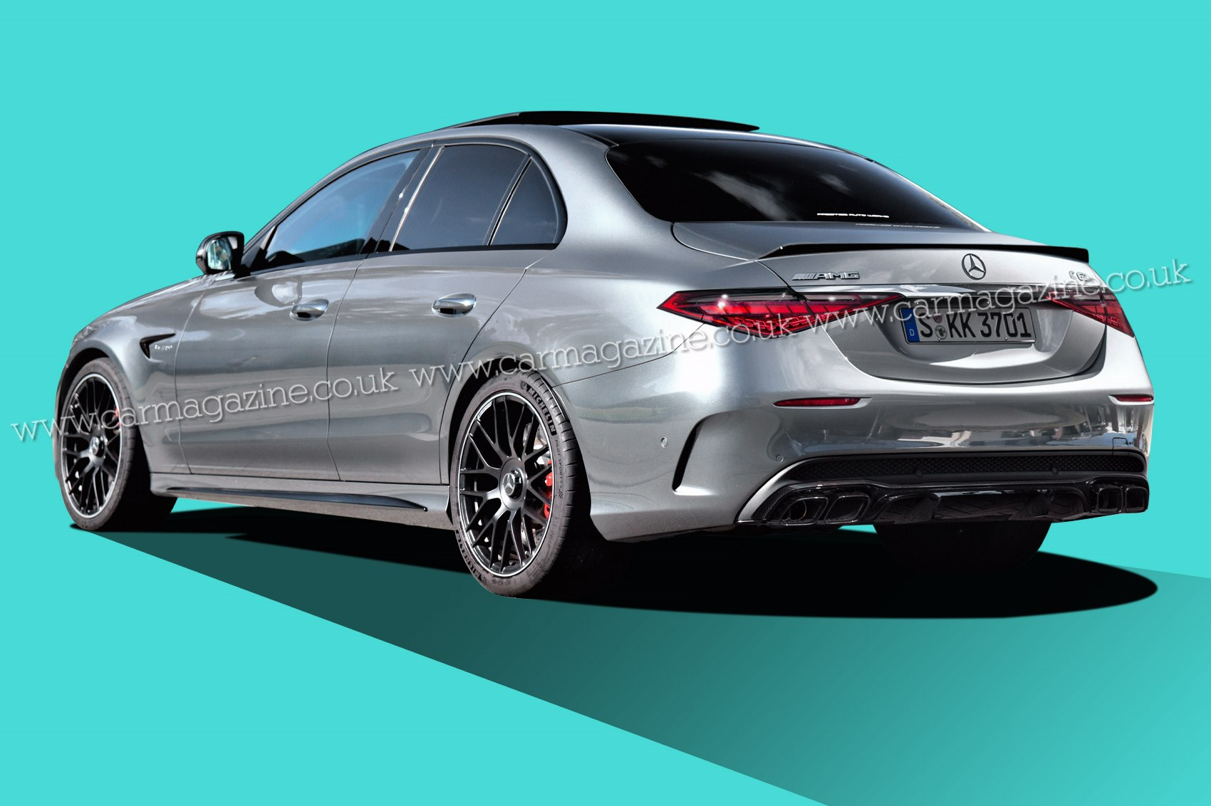 Render do Mercedes-AMG C63