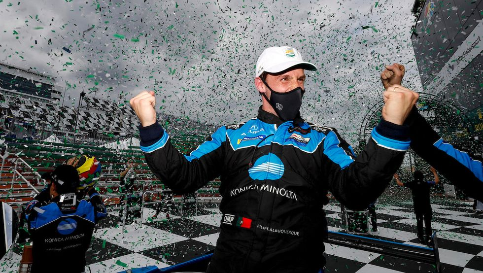 Albuquerque volta a vencer em Daytona