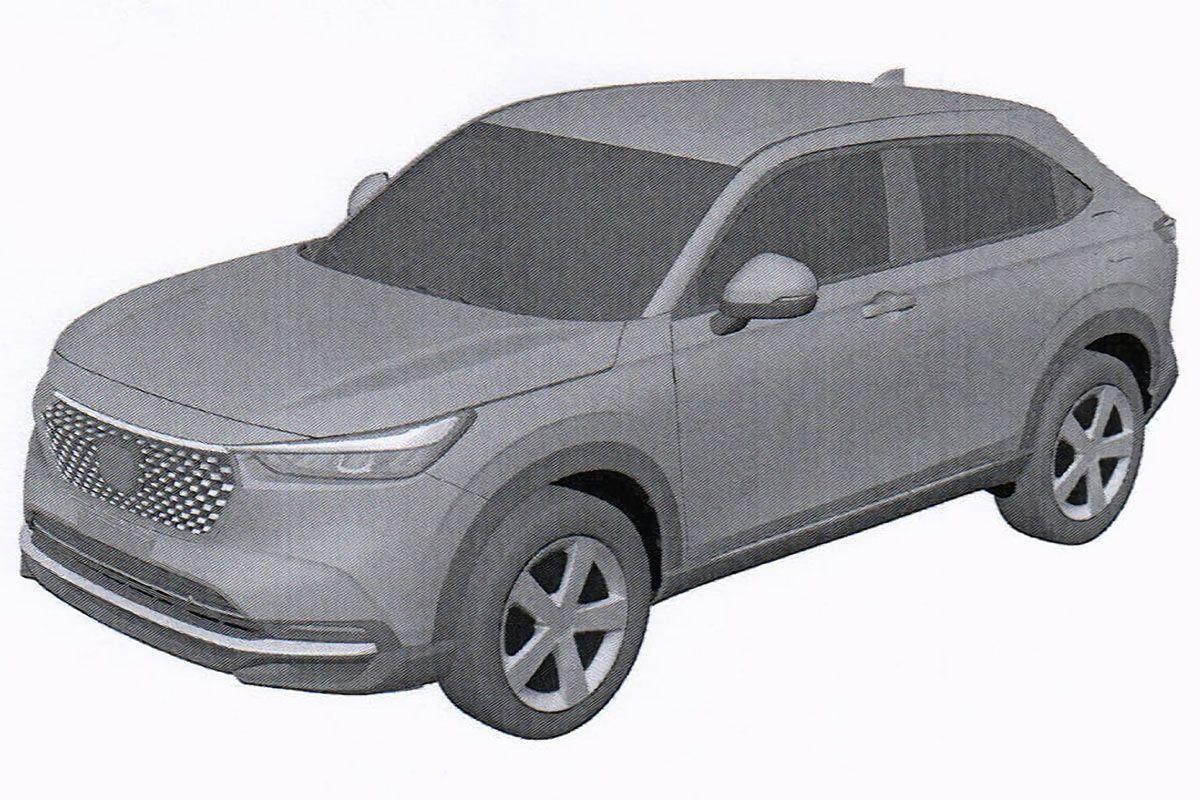 Honda HR-V patente