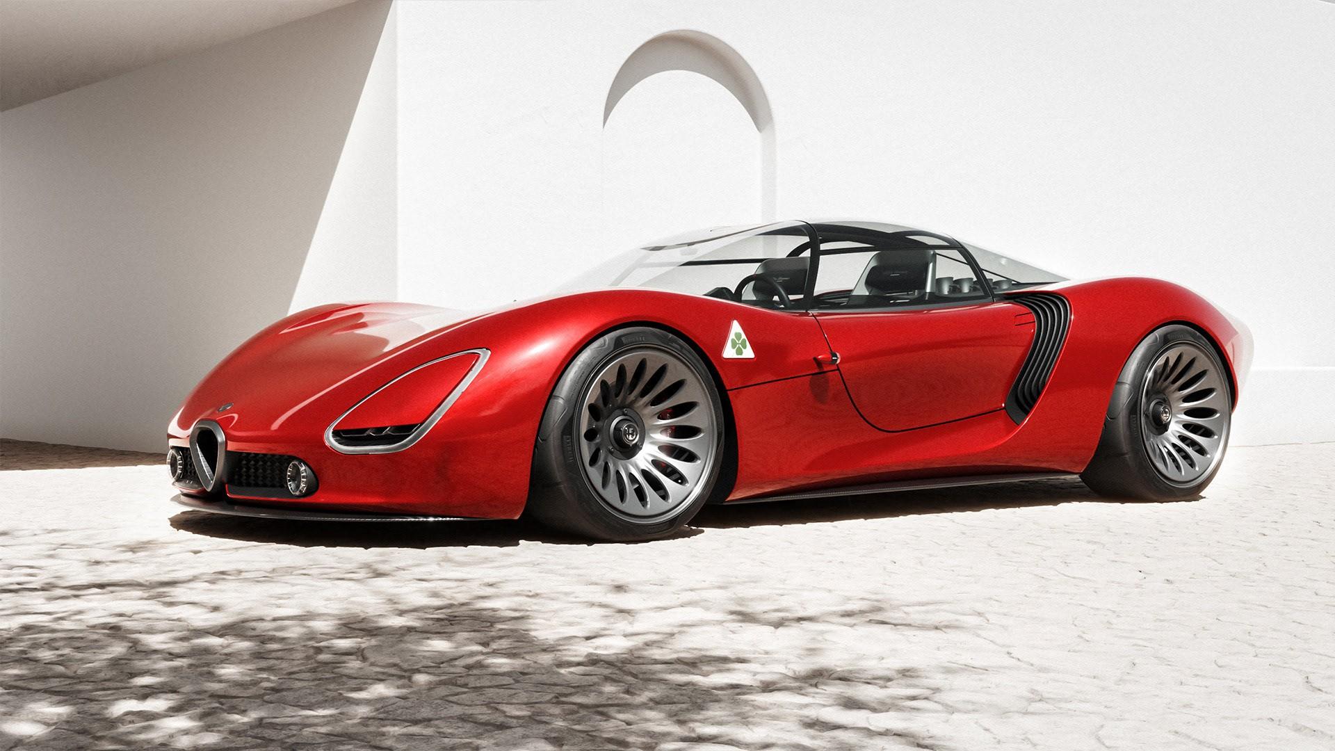 Alfa Romeo 33 Stradale Visione