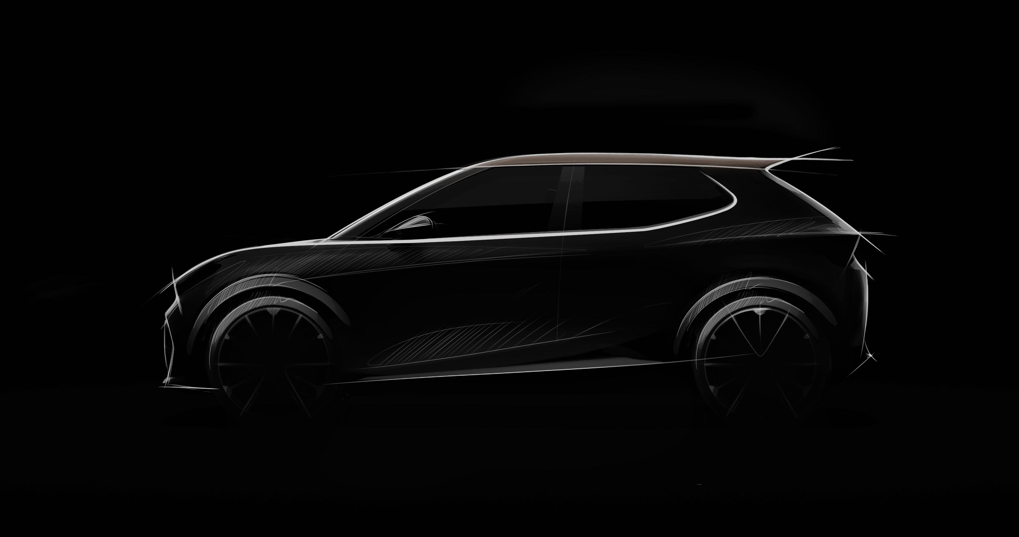 Primeiro teaser do modelo urbano elétrico da Seat a lançar em 2025