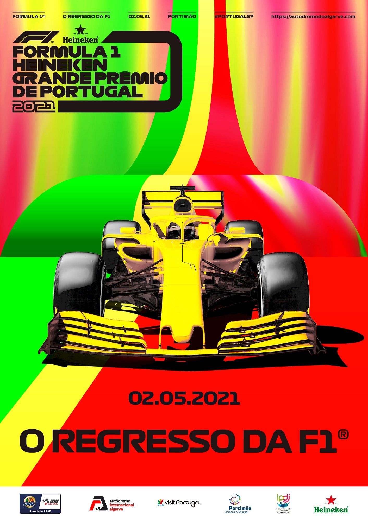 Cartaz do G.P. de Portugal de F1