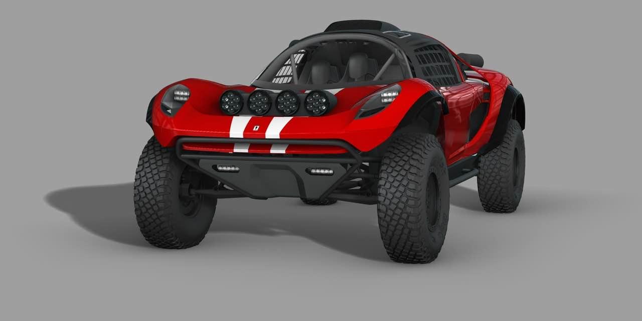 Glickenhaus 008 Dakar Buggy