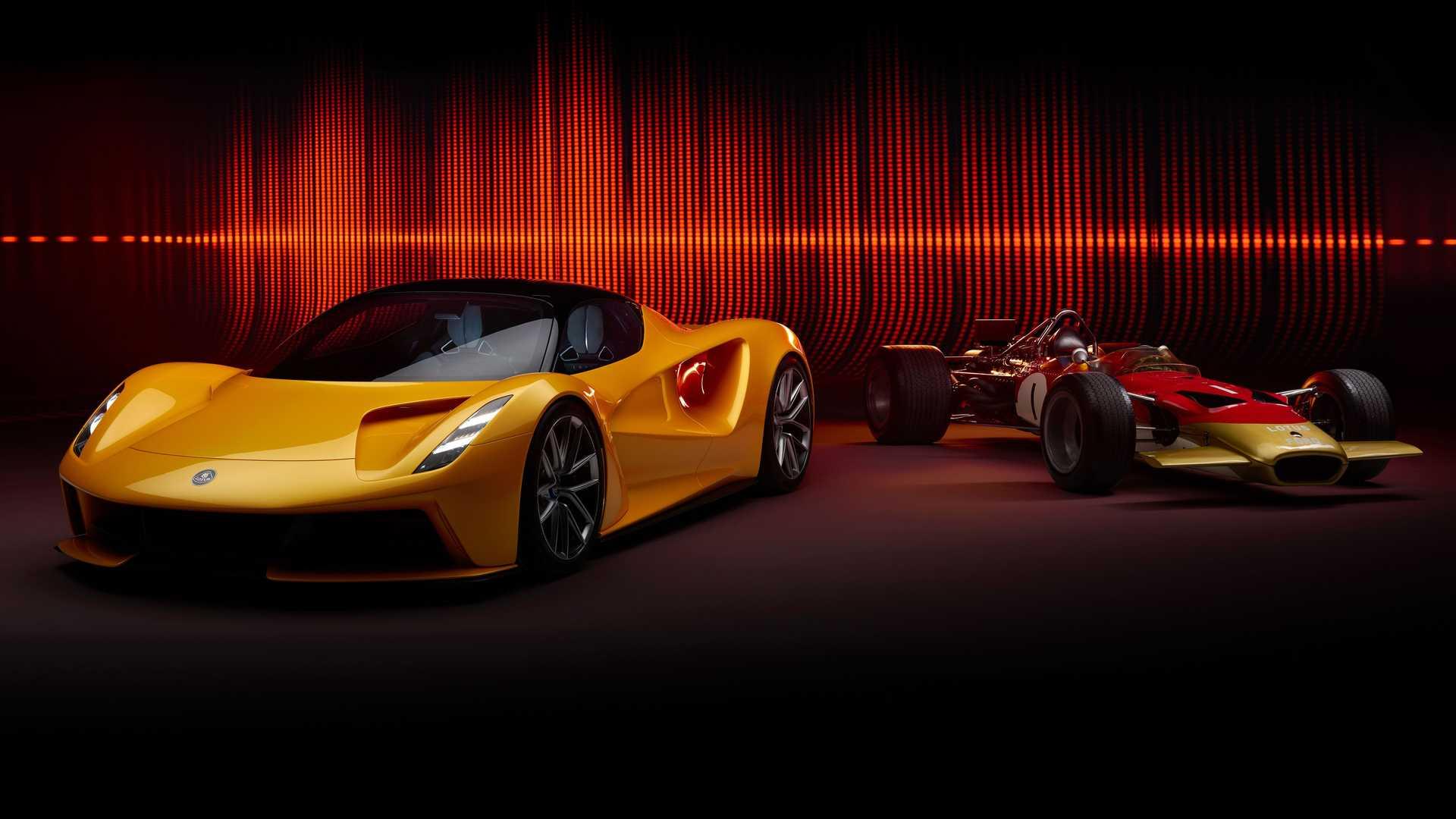 Lotus Evija e Type 49