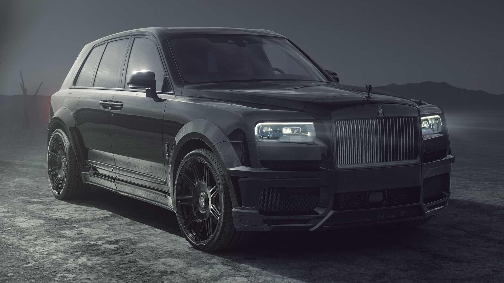 Rolls-Royce Cullinan By Spofec