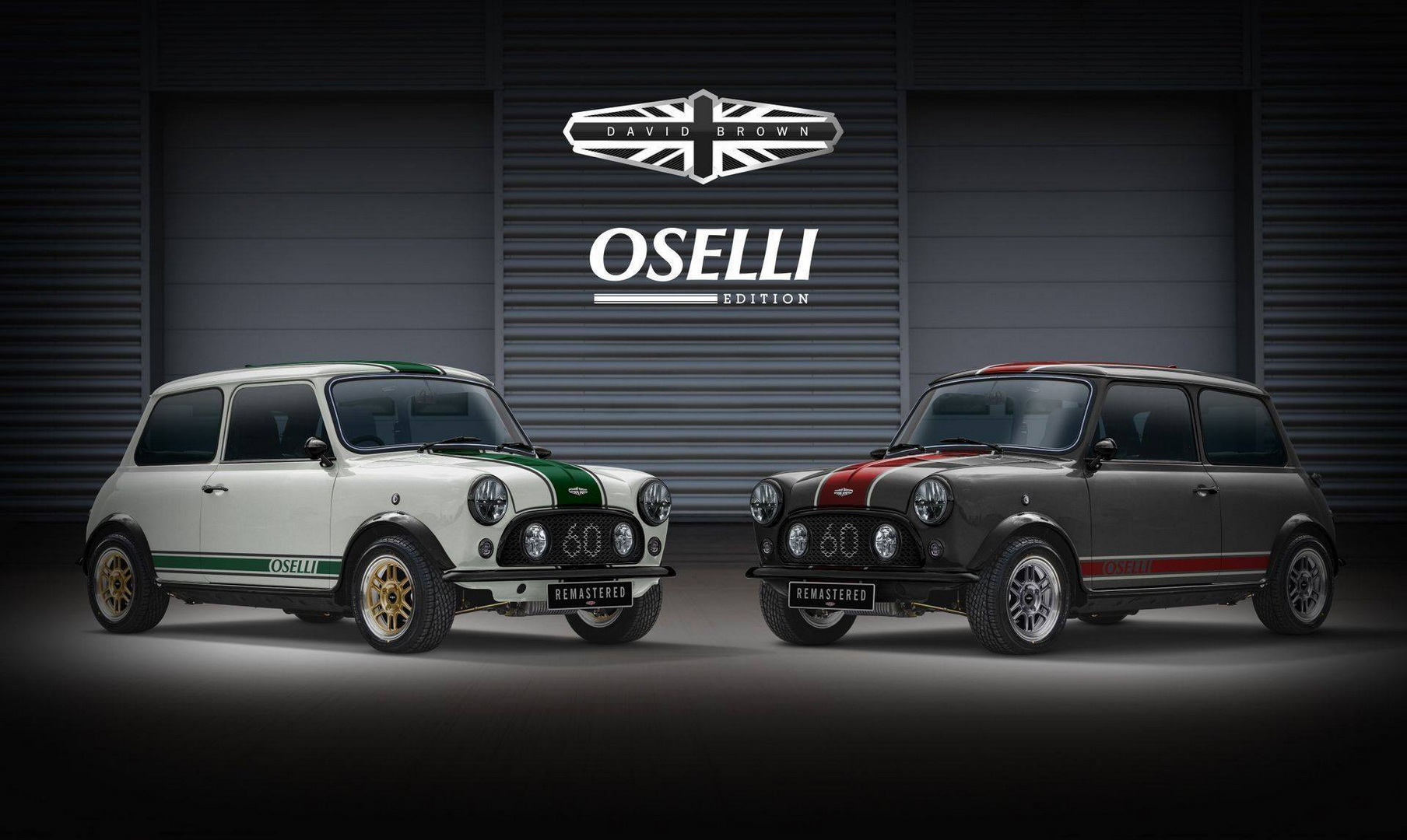 David Brown Automotive Classic Mini Oselli Edition