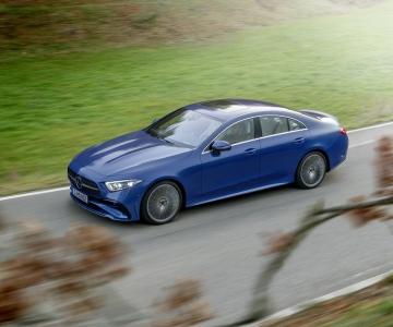 Mercedes-Benz CLS facelift