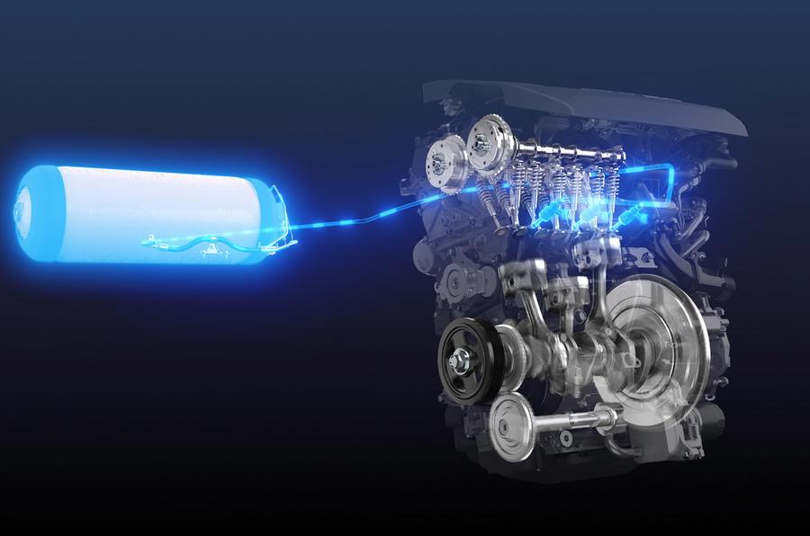 Motor do GR Yaris passa a funcionar a hidrogénio