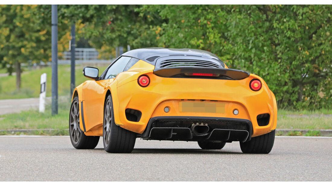 Lotus Type 131 em testes