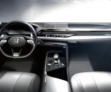 Novo interior da Honda