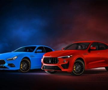 Maserati Ghibli e Levante F Tributo