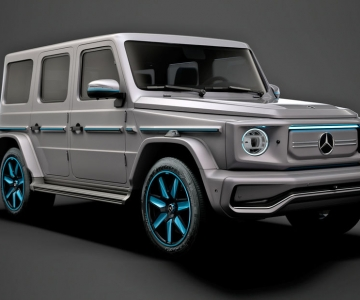Render do Mercedes-Benz EQG