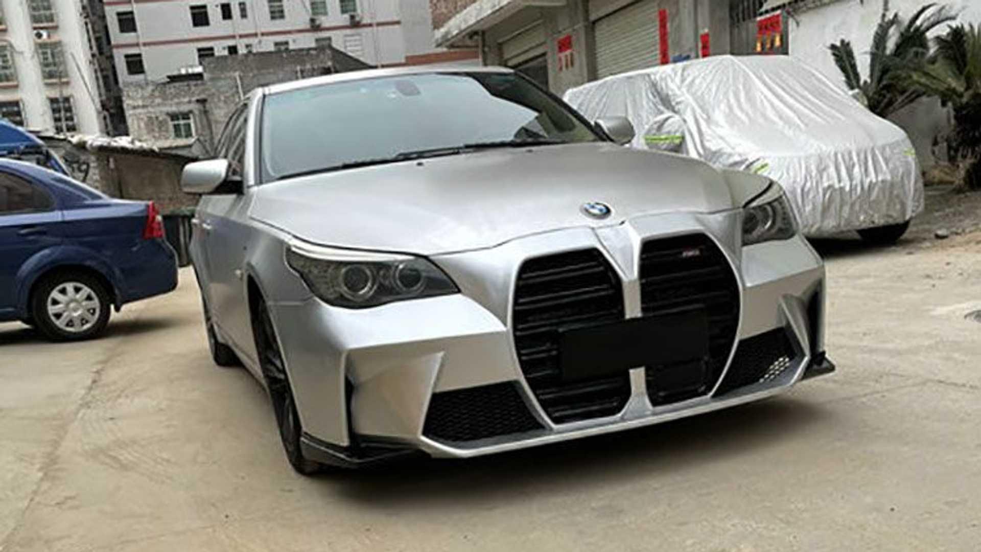 Chineses têm grelha para BMW Série 5 E60