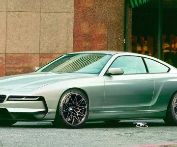 Render do BMW Série 8 modernizado