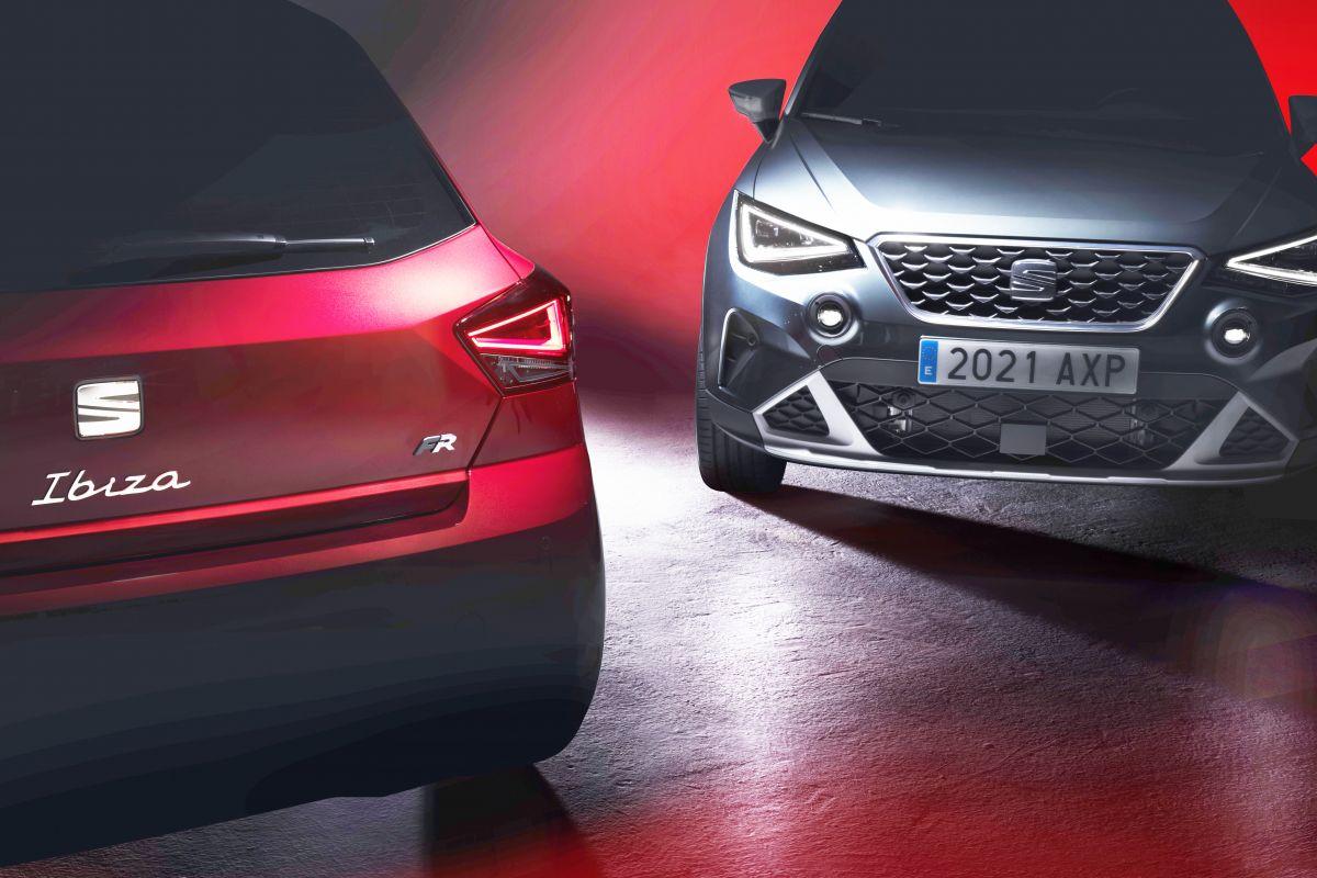 Seat Ibiza e Arona facelift