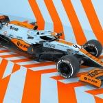 McLaren MCL35M com visual específico para o Grande Prémio do Mónaco de F1
