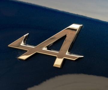 Símbolo da Alpine no A110