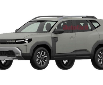 Dacia Bigster patente