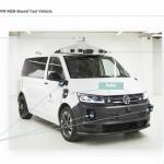 Protótipo da VW T6 autónoma