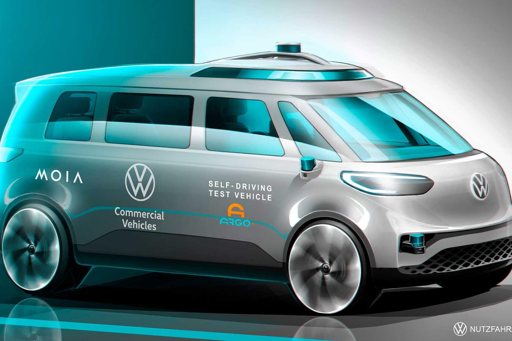 Sketch da VW Pão de Forma autónoma