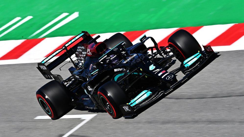 Hamilton vence G.P. de Espanha