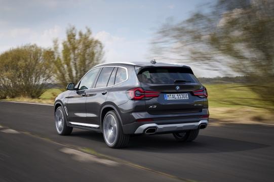 BMW X3 LCI